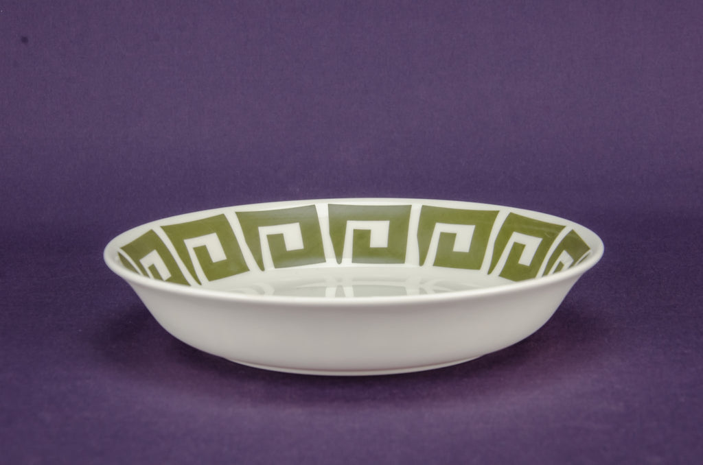 5 Modernist bone china bowls