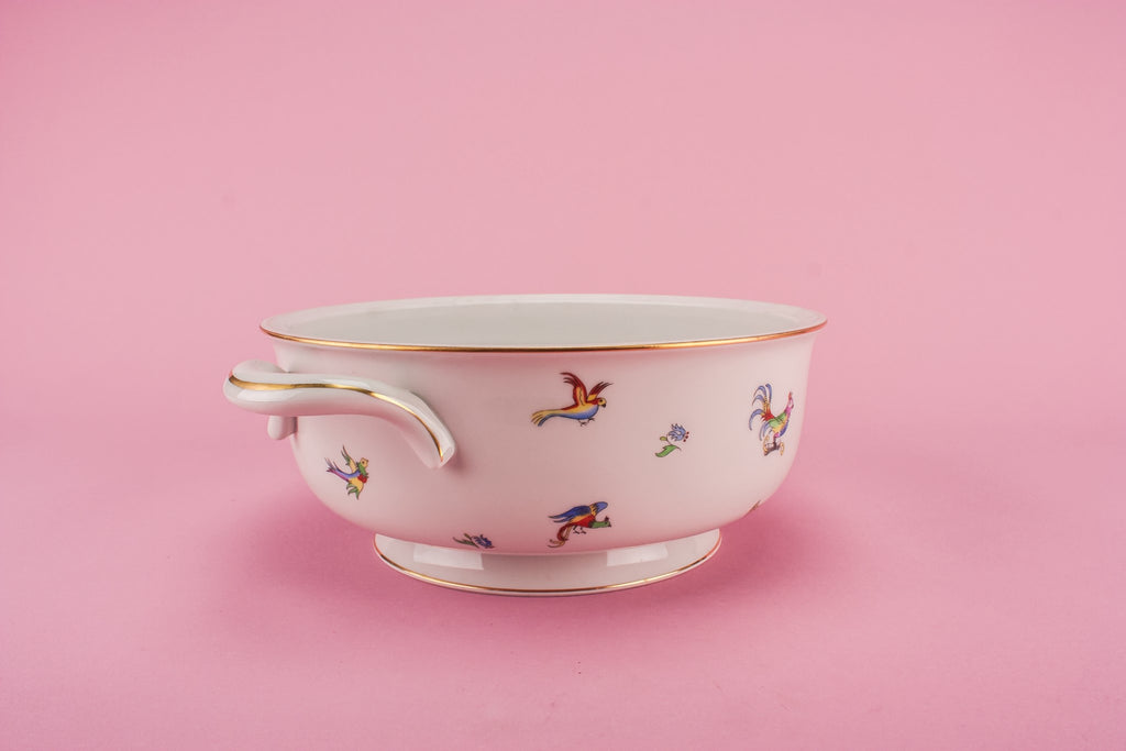 Herend porcelain serving bowl