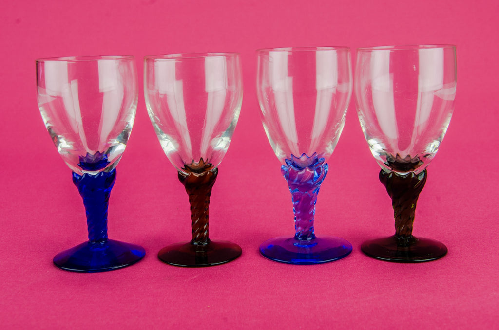 4 stem port glasses