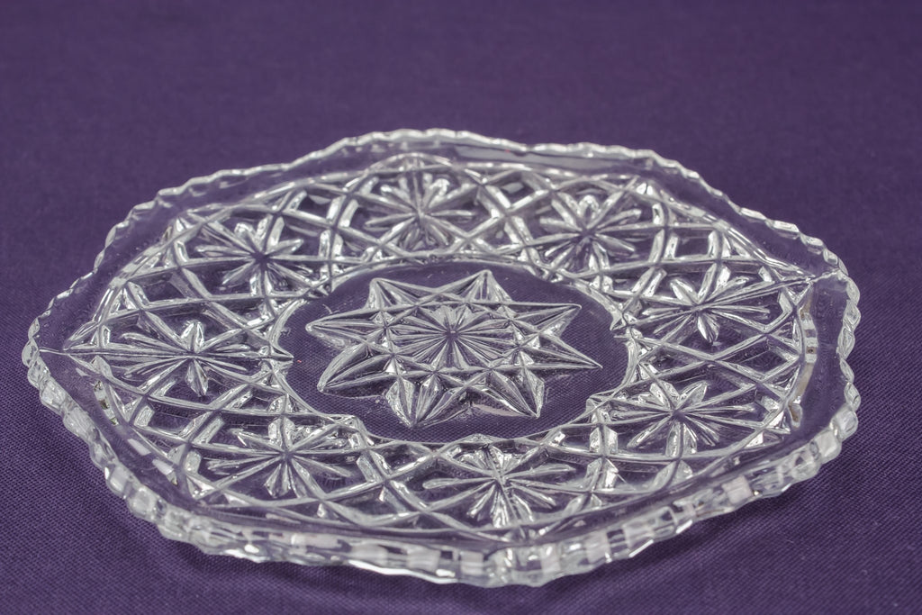 5 glass side plates