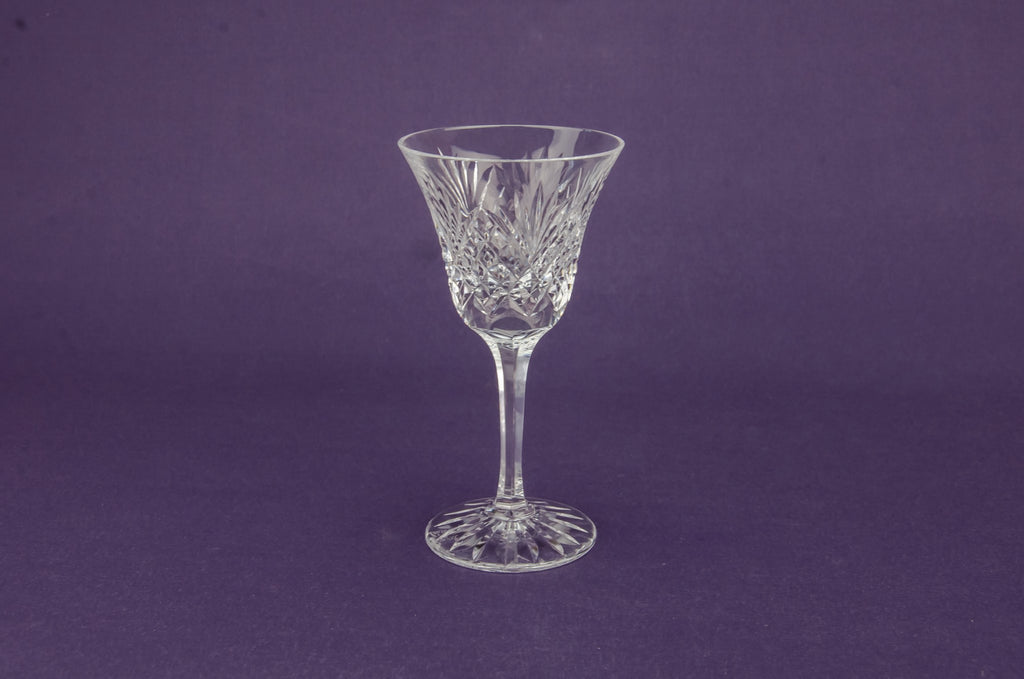 2 medium wine glasses