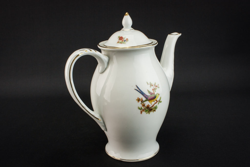Porcelain coffee set for four