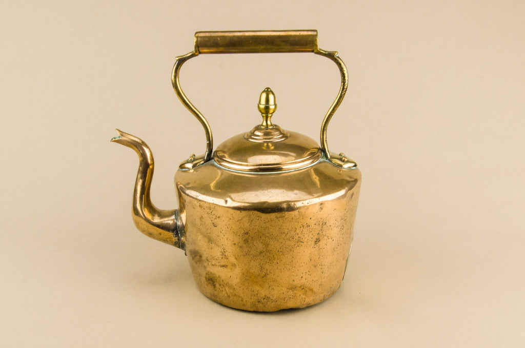 Victorian copper kettle