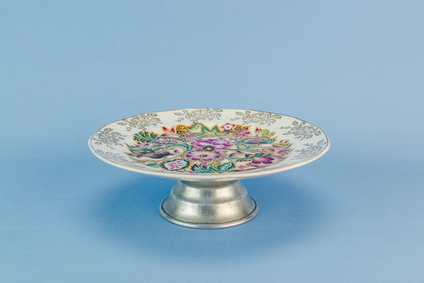 Traditional pottery cake stand