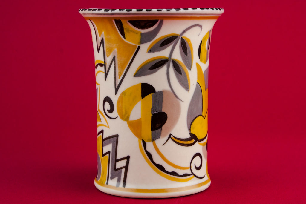 Pottery Art Deco vase