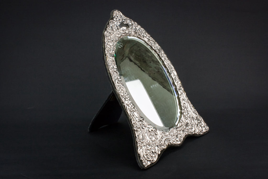 Sterling silver mirror