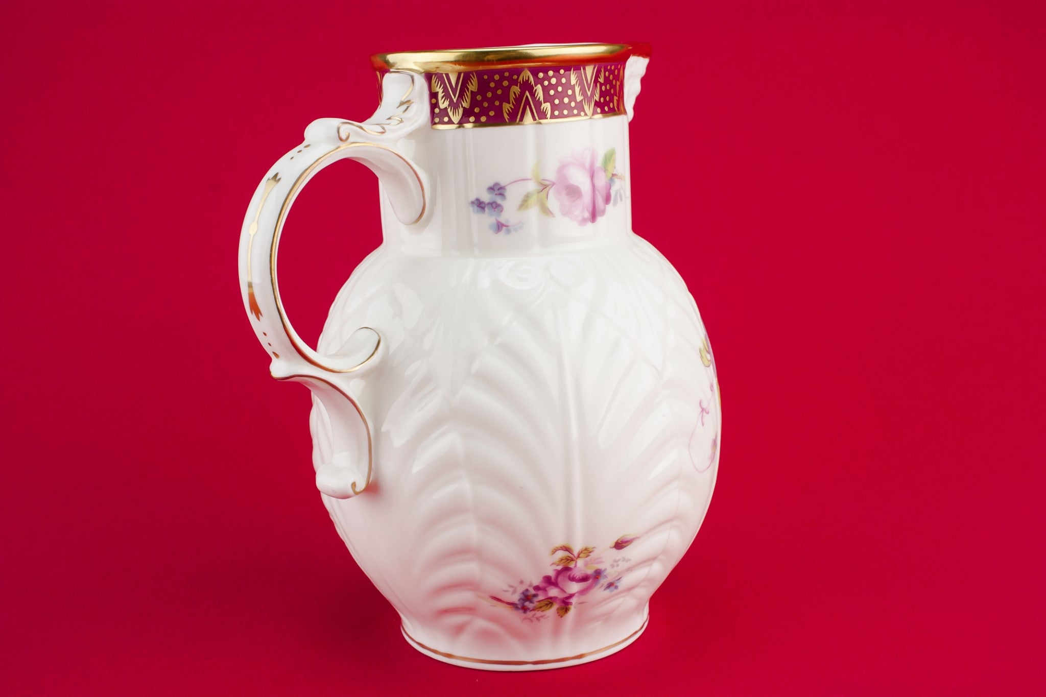 Bone china water jug