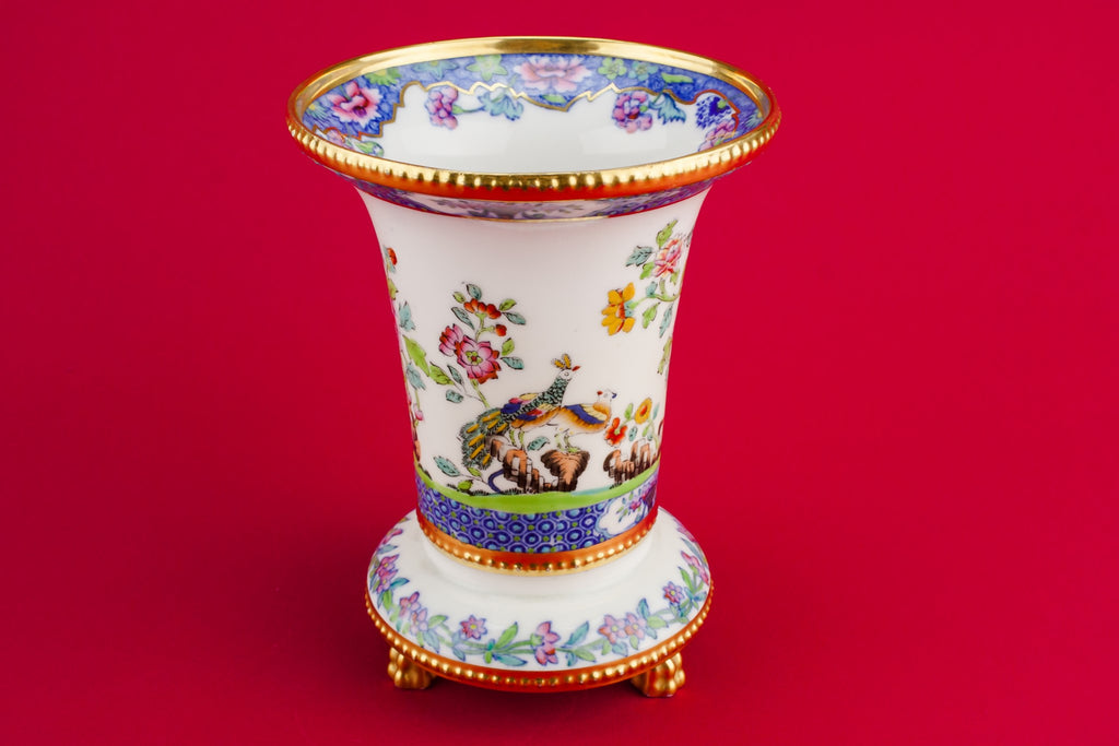 Spode bone china vase