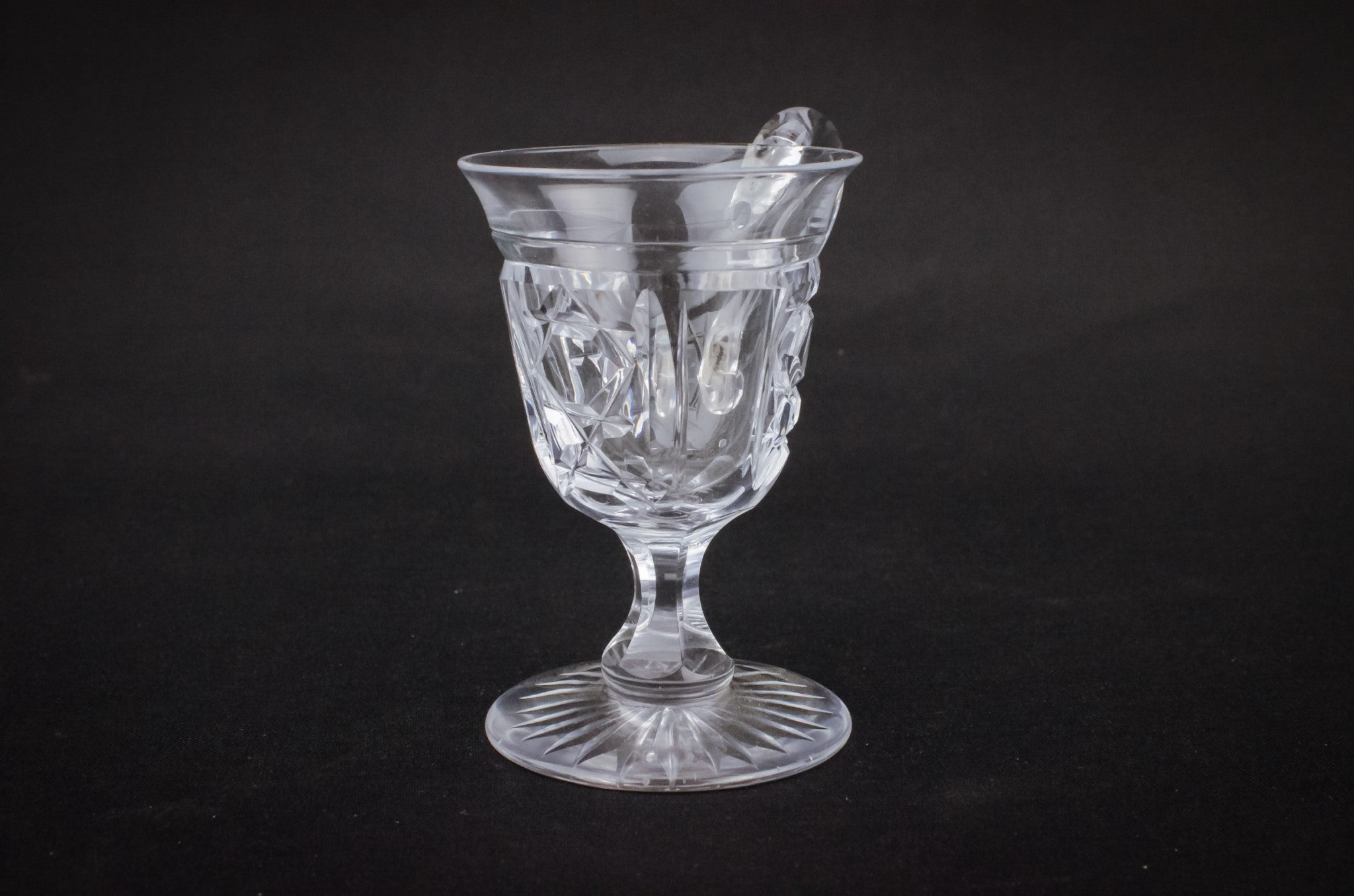 Crystal punch glass