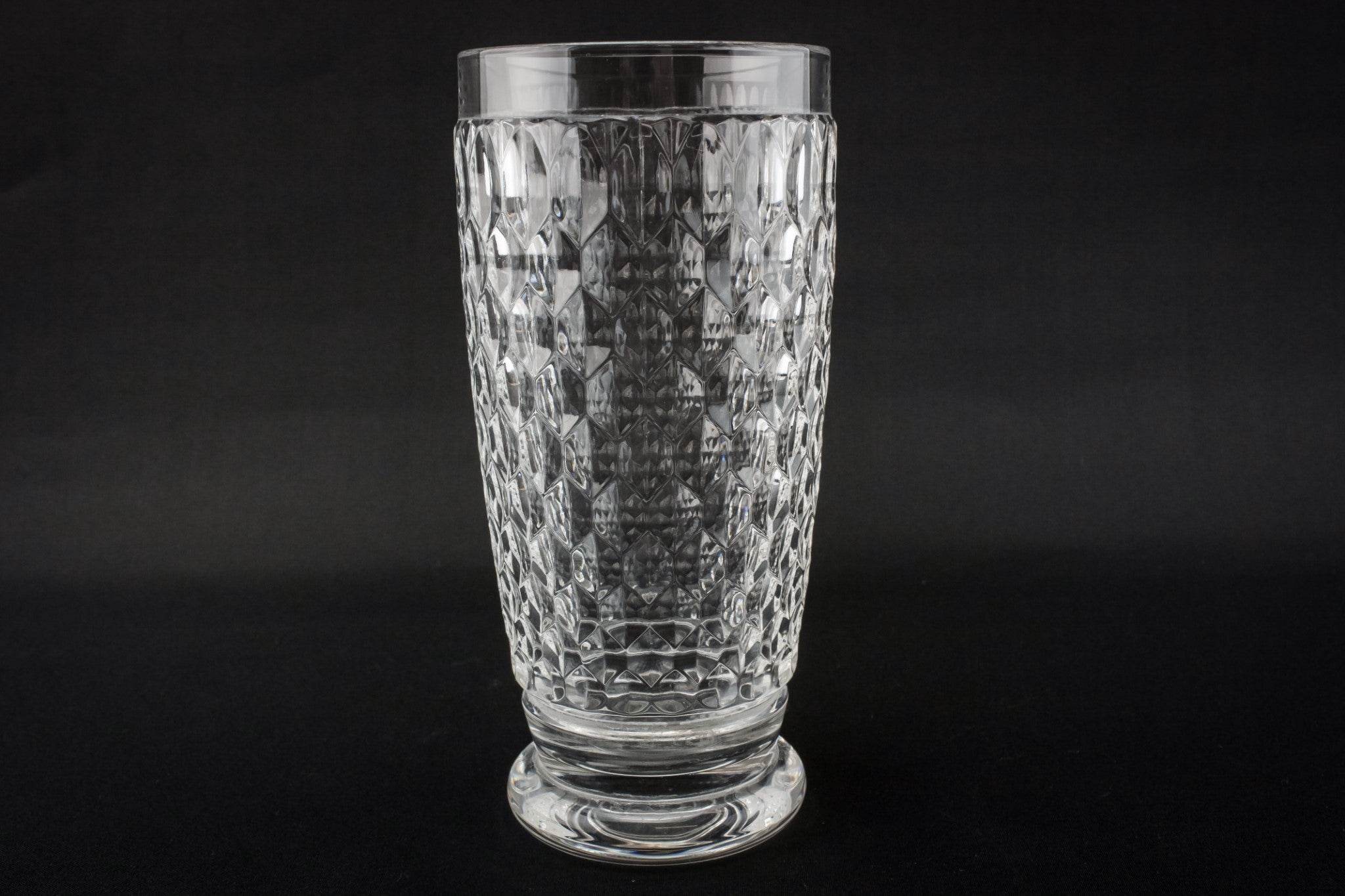 6 tumbler water glasses