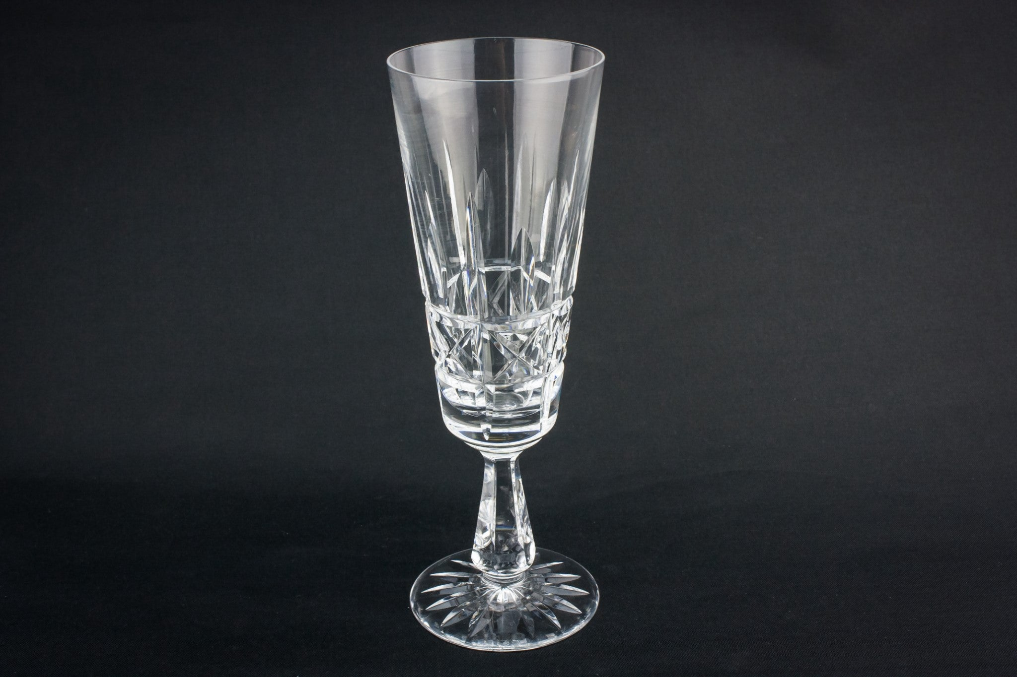 2 Waterford champagne flutes