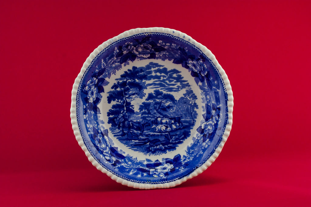 Cattle Scenery serving bowl
