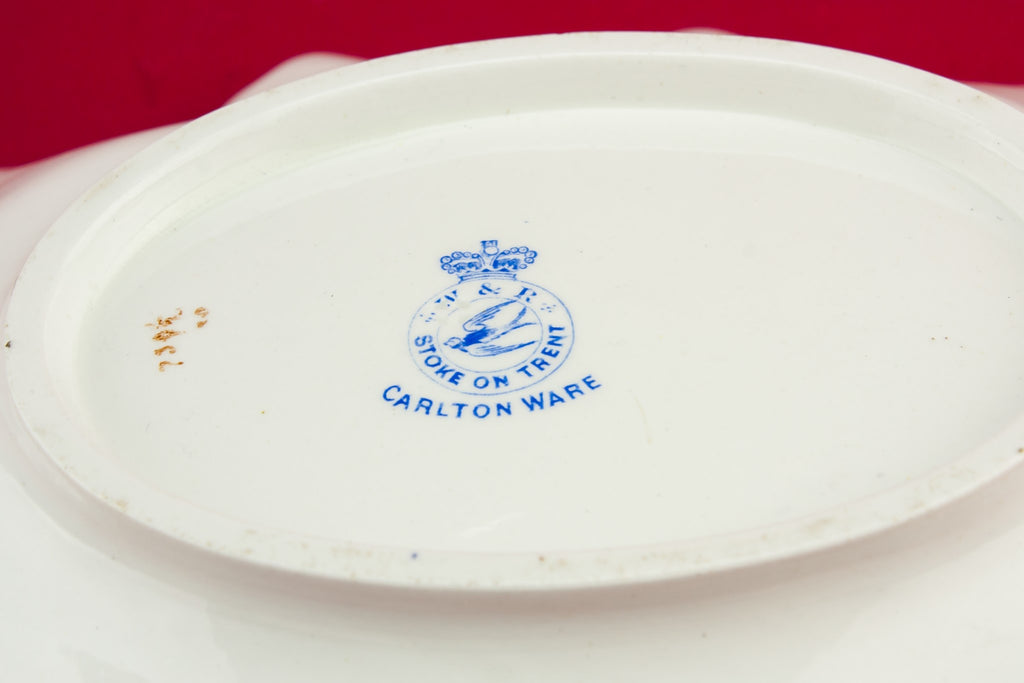 Carlton Ware pottery bowl