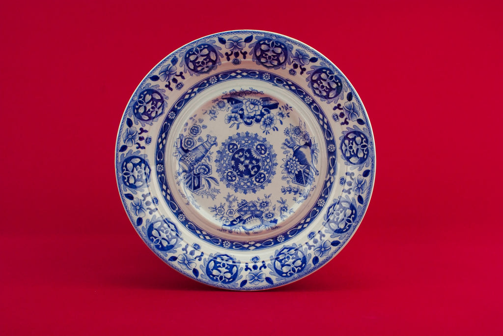 Spode blue serving bowl