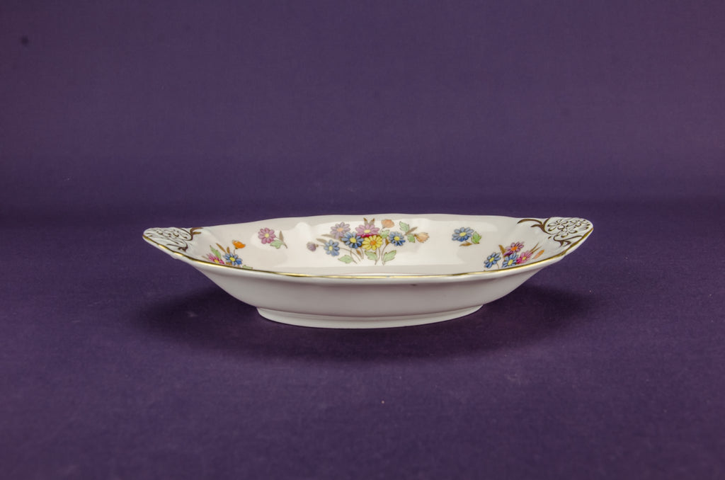 Bone china serving bowl