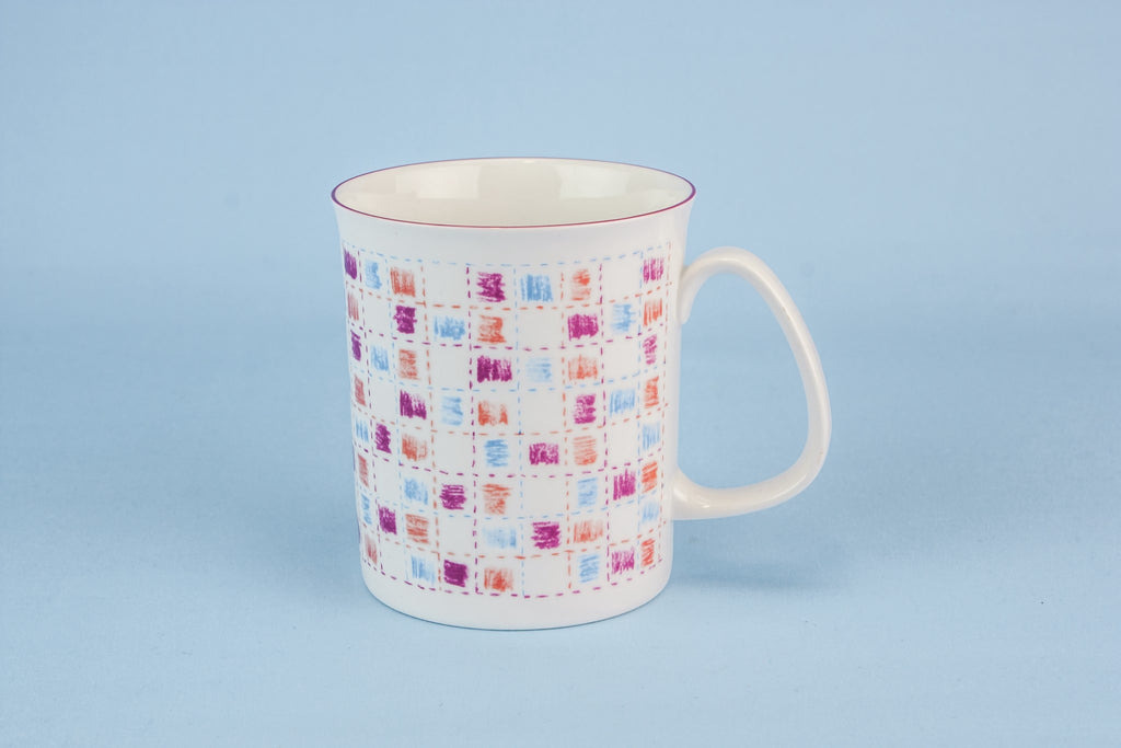 Retro bone china teacup