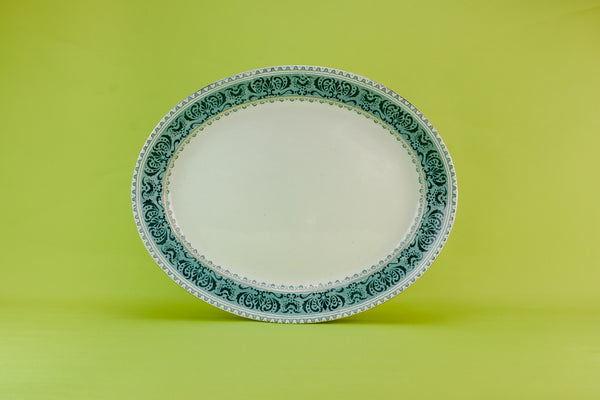 Arts & Crafts pottery platter
