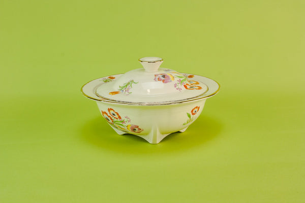 Art Deco tulips tureen