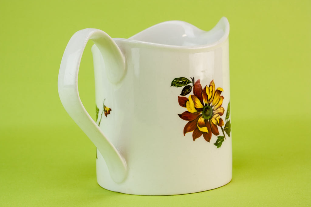 Yellow flower jug