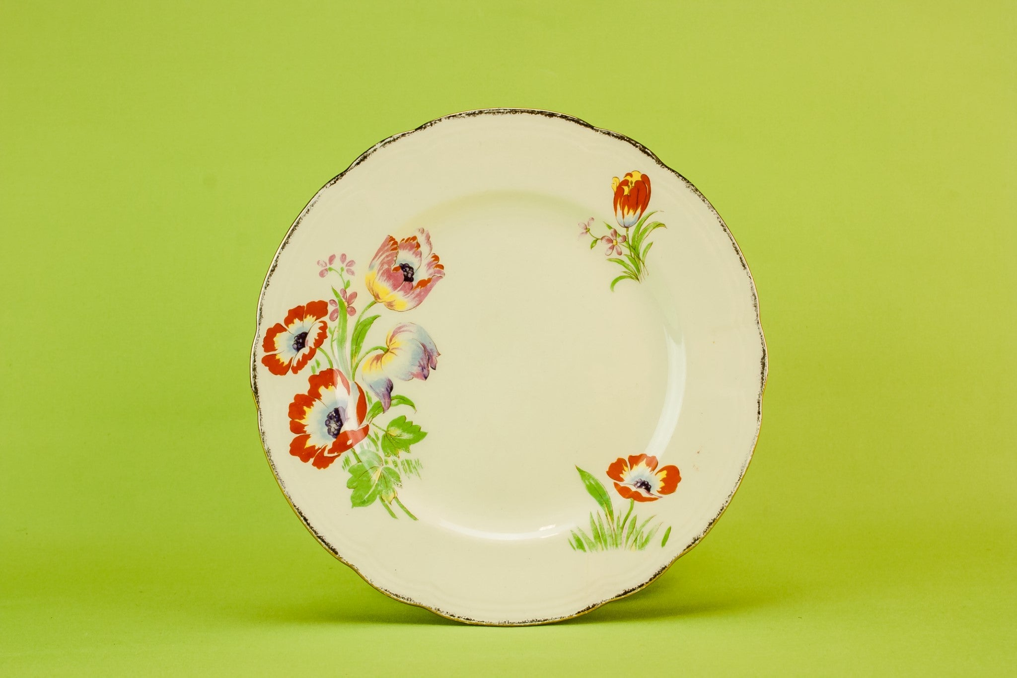 4 Alfred Meakin pottery plates