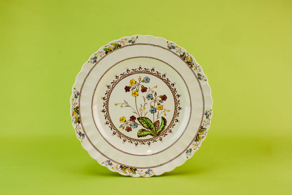 Copeland pottery serving dish