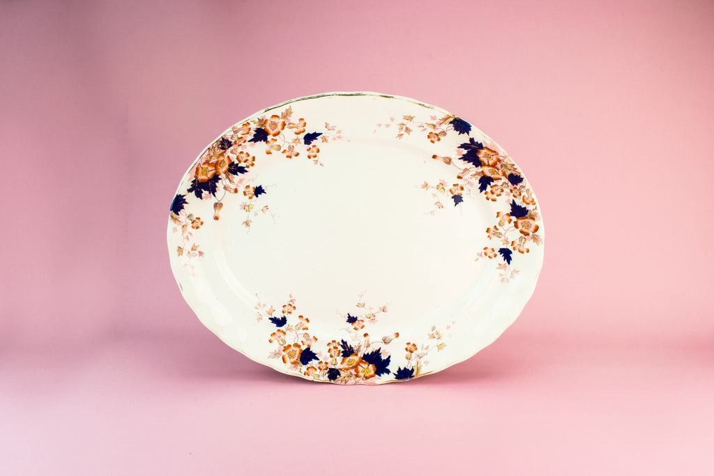 Keeling & Co pottery platter