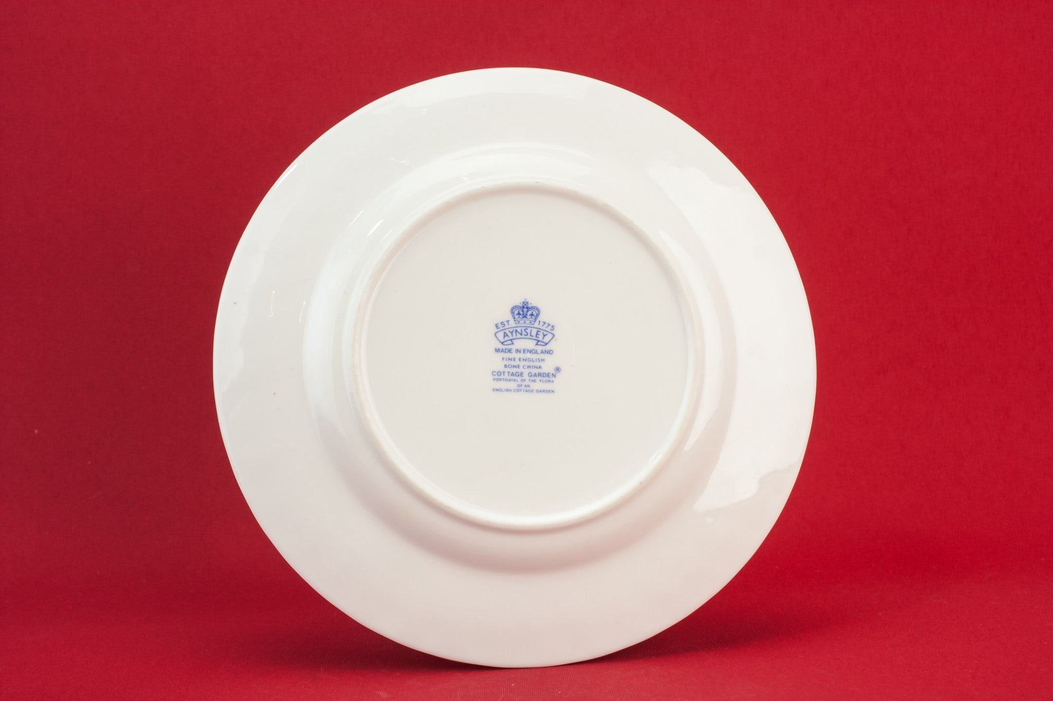 Aynsley bone china plate