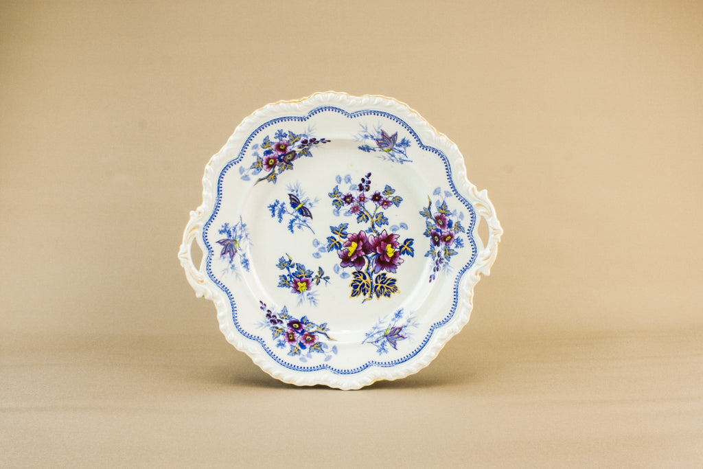 Victorian pottery serving dish