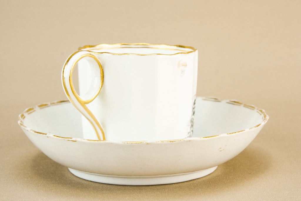 Coffee can & saucer