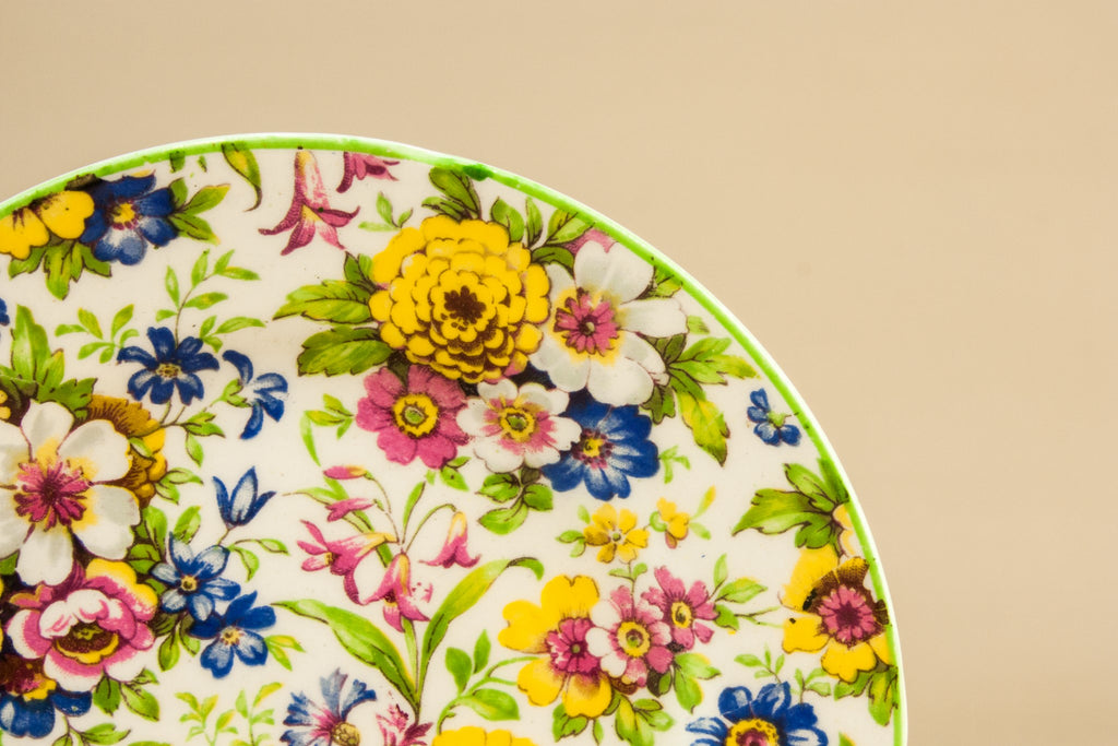 Small chintz plate