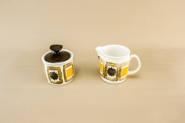 Modernist milk and sugar set