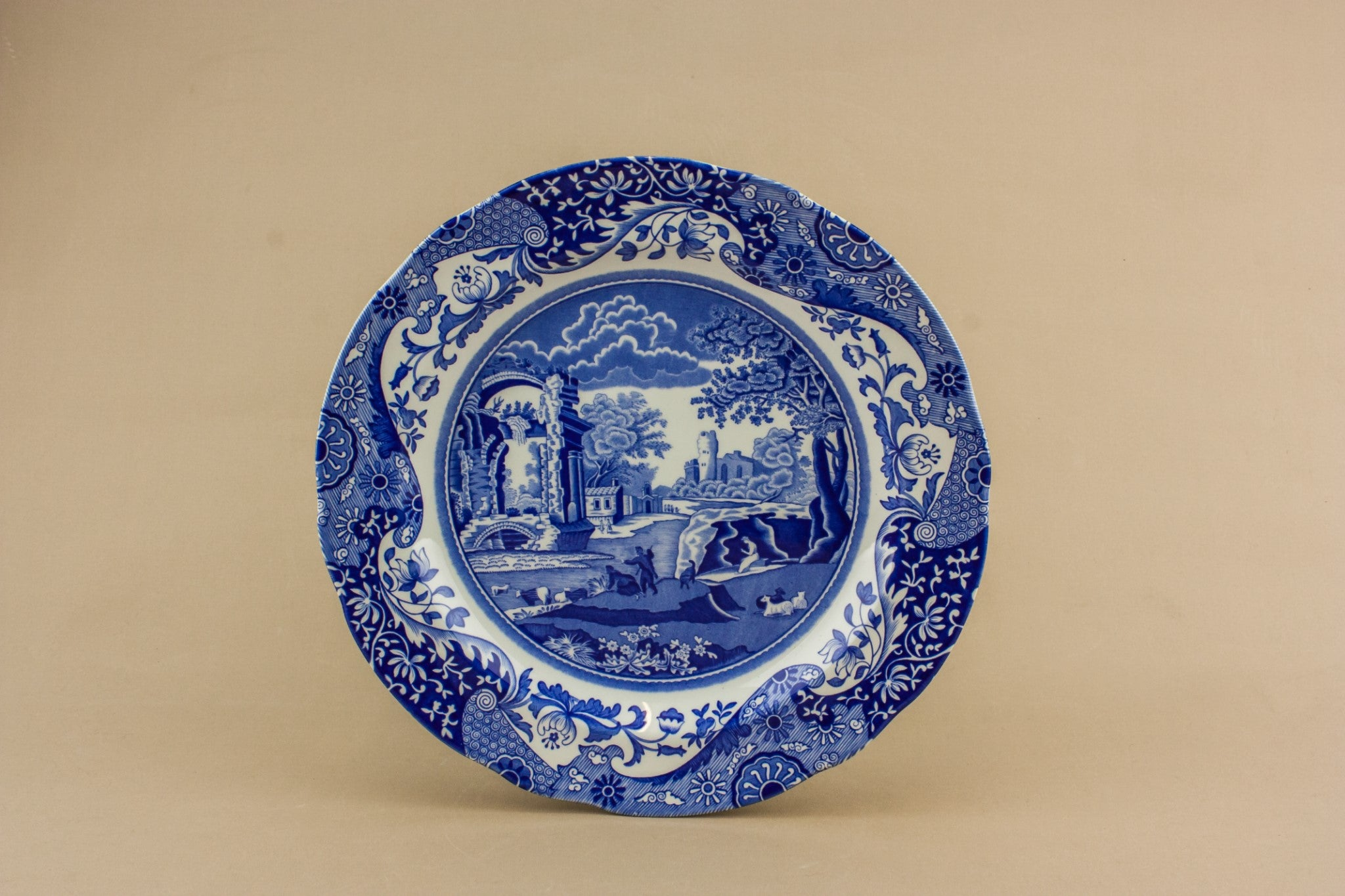 Blue and white bowl