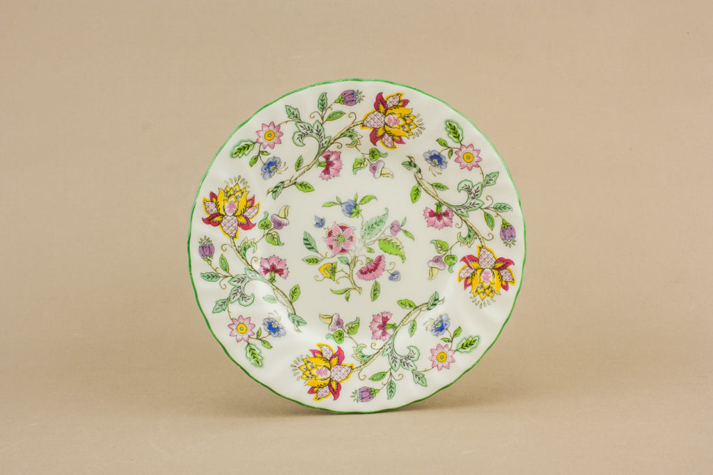 6 Minton bone china plates