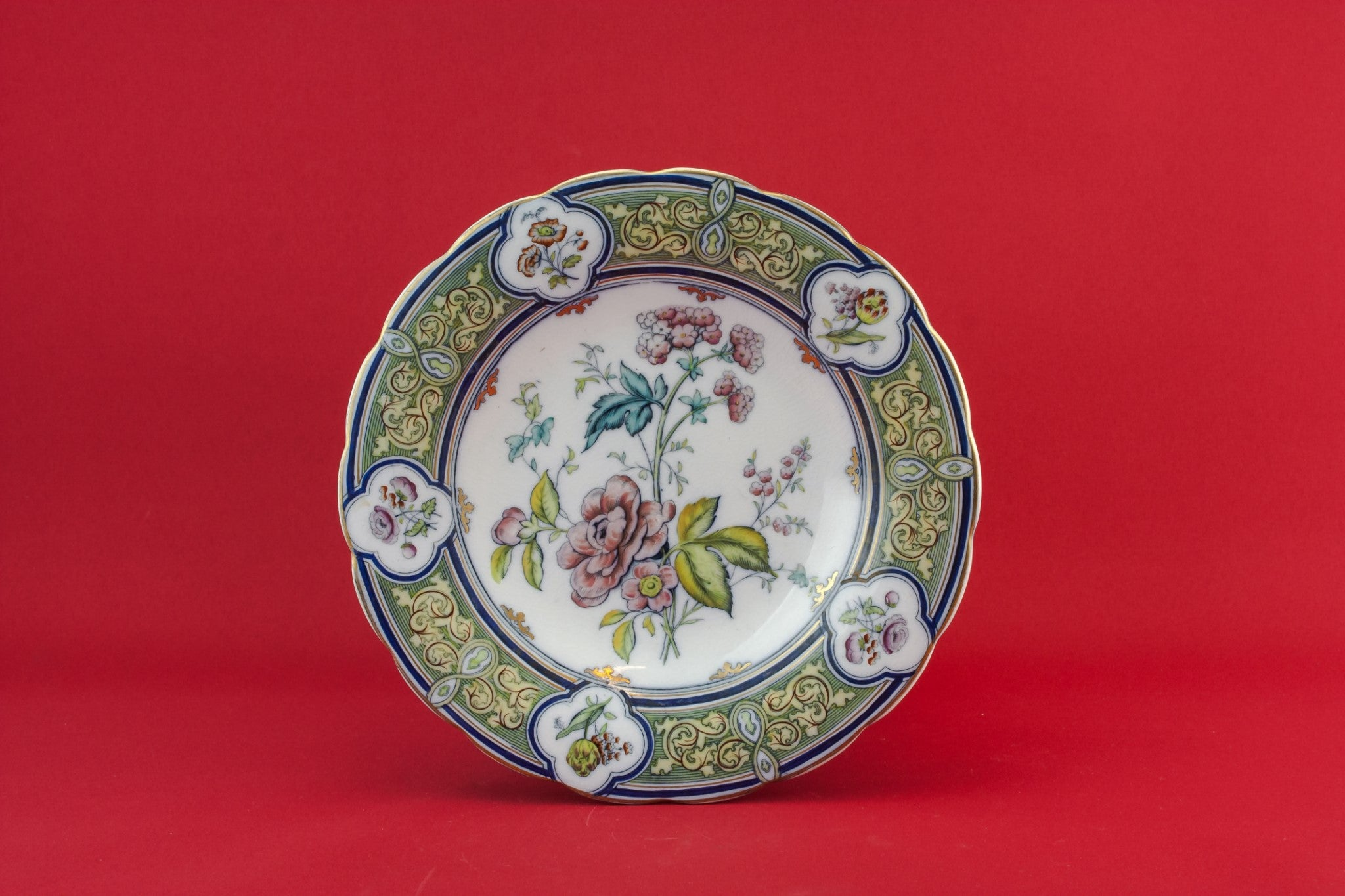 Gothic Revival serving dish