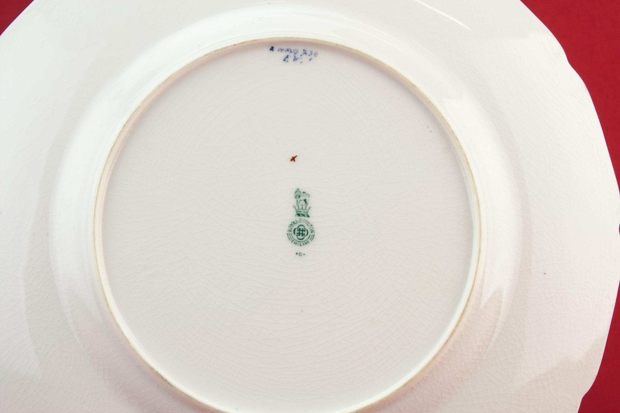 Royal Doulton pottery plate