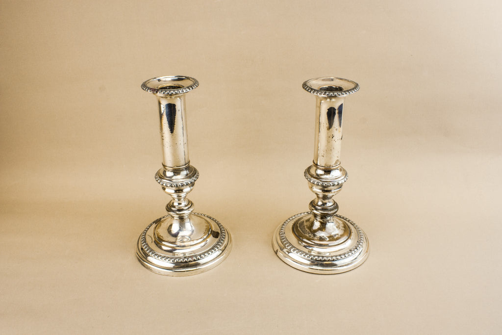 2 Neo-Classical candlesticks
