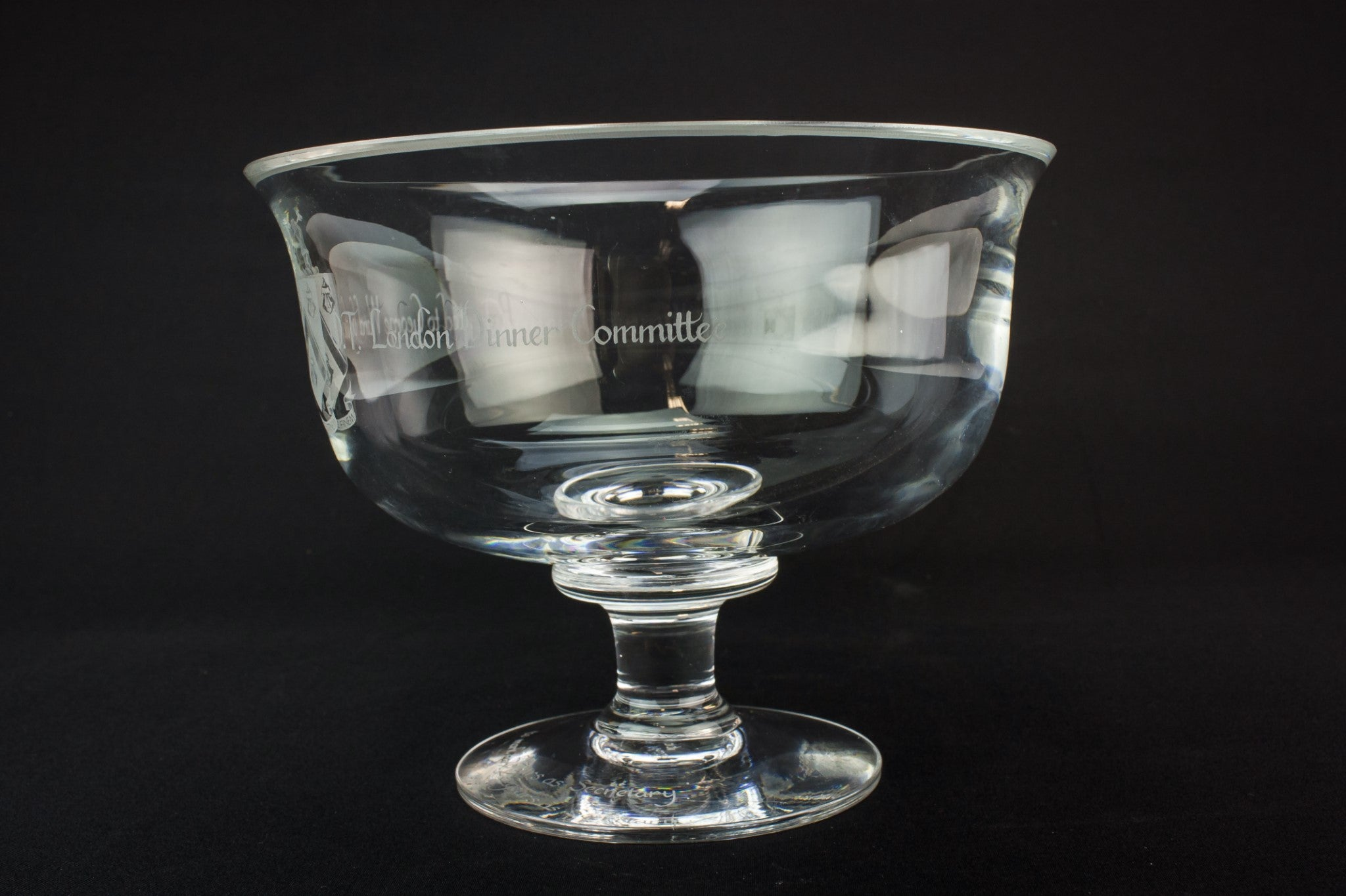 Dartington glass bowl