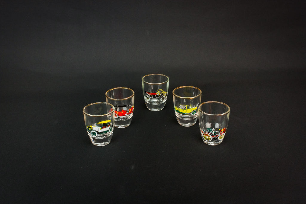 5 shot glasses