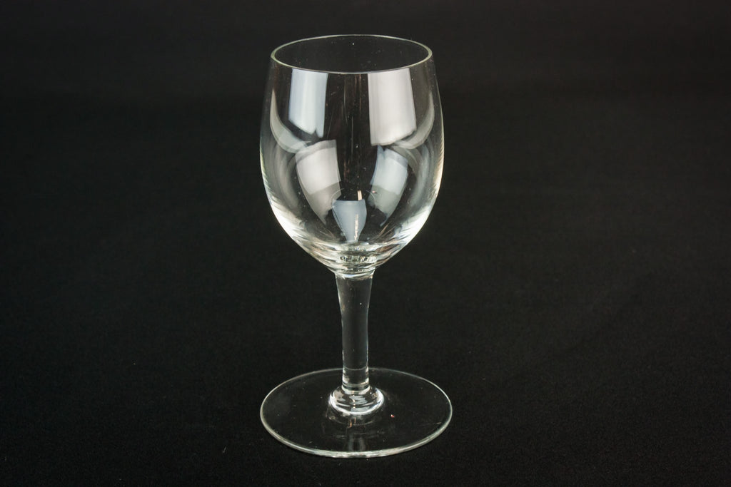 5 medium port glasses