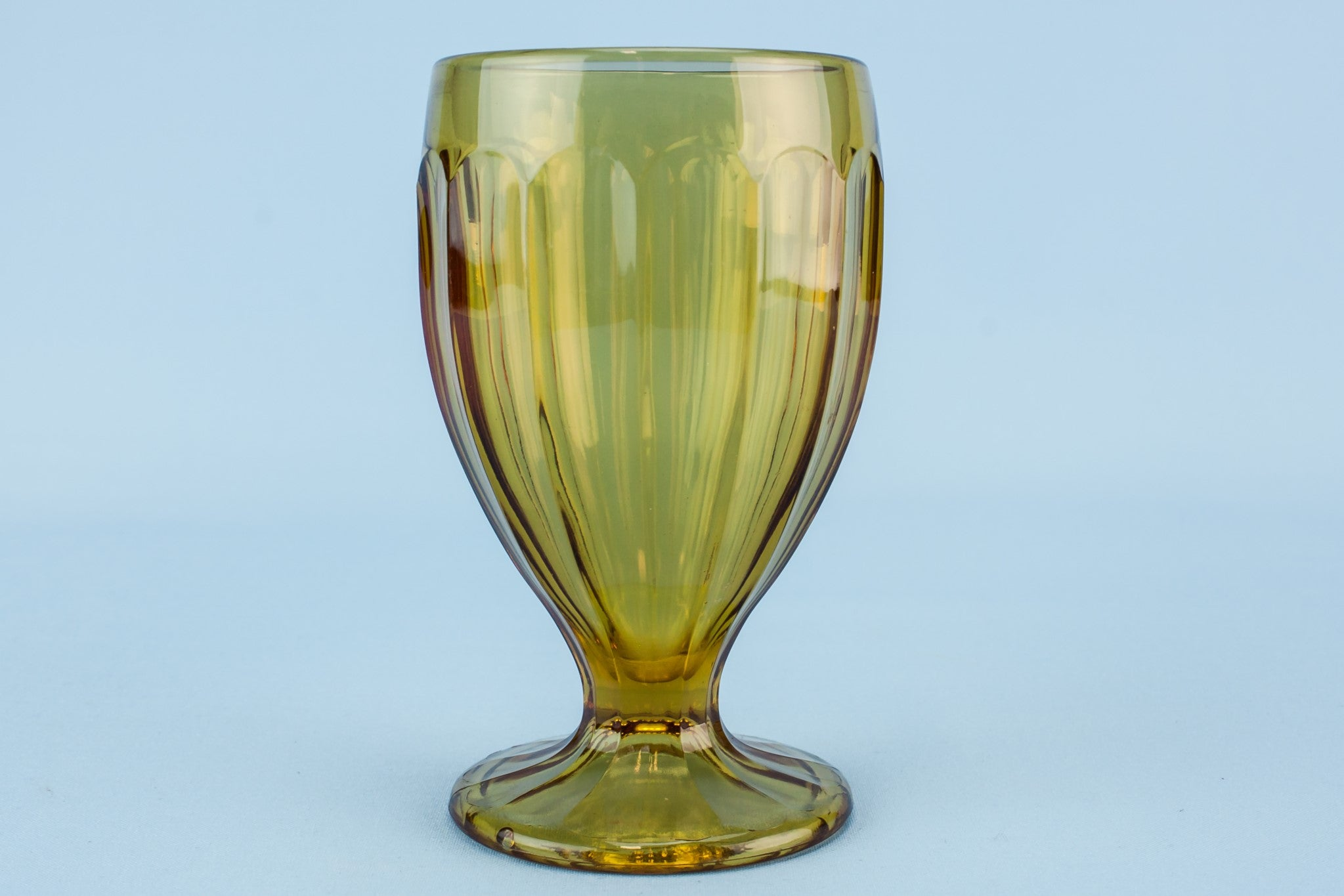 Glass Art Deco vase