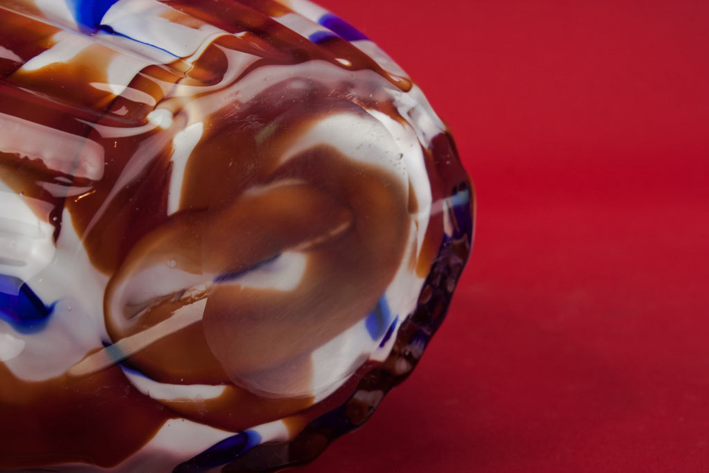 Modernist glass vase