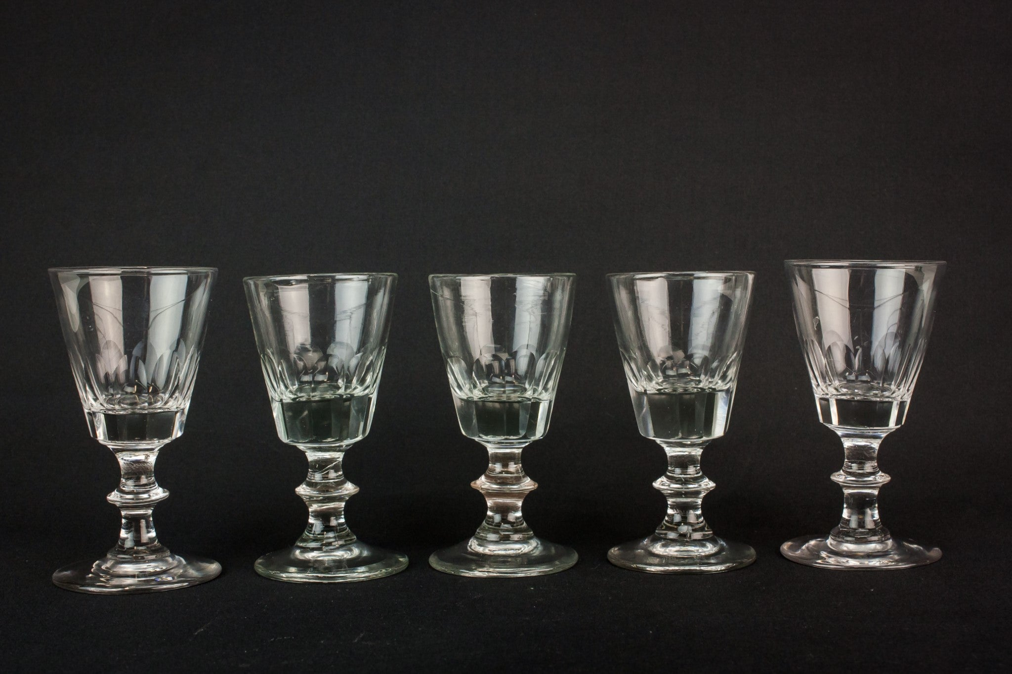 5 stem port glasses