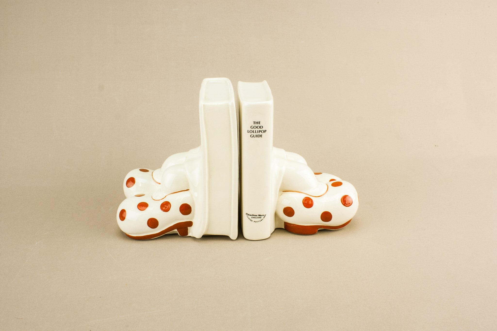 Carlton Ware bookends
