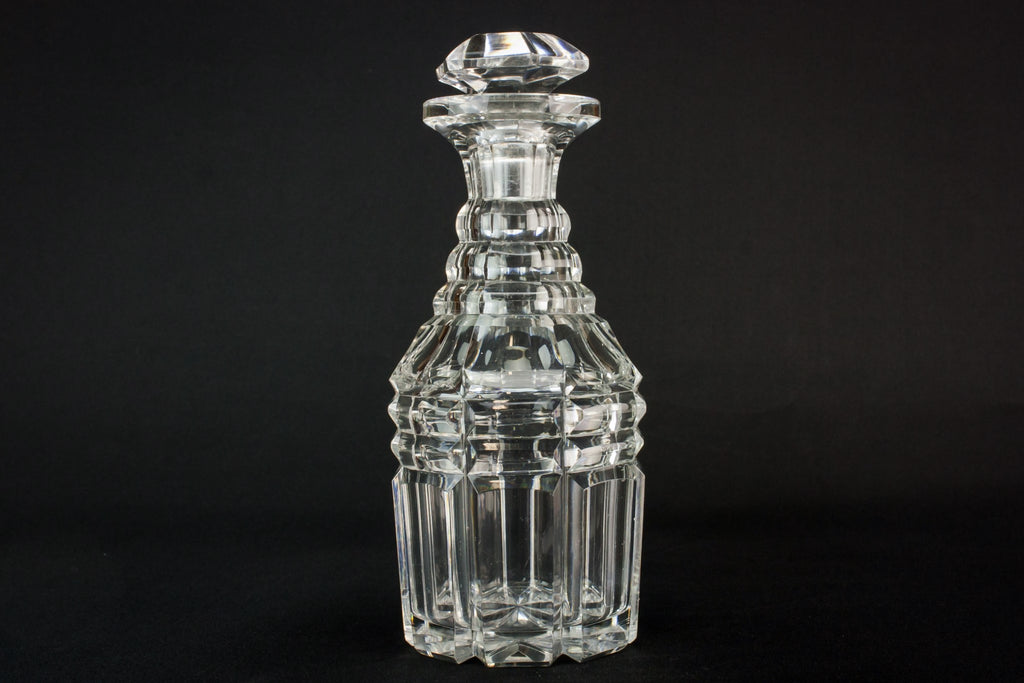 Arts & Crafts glass decanter