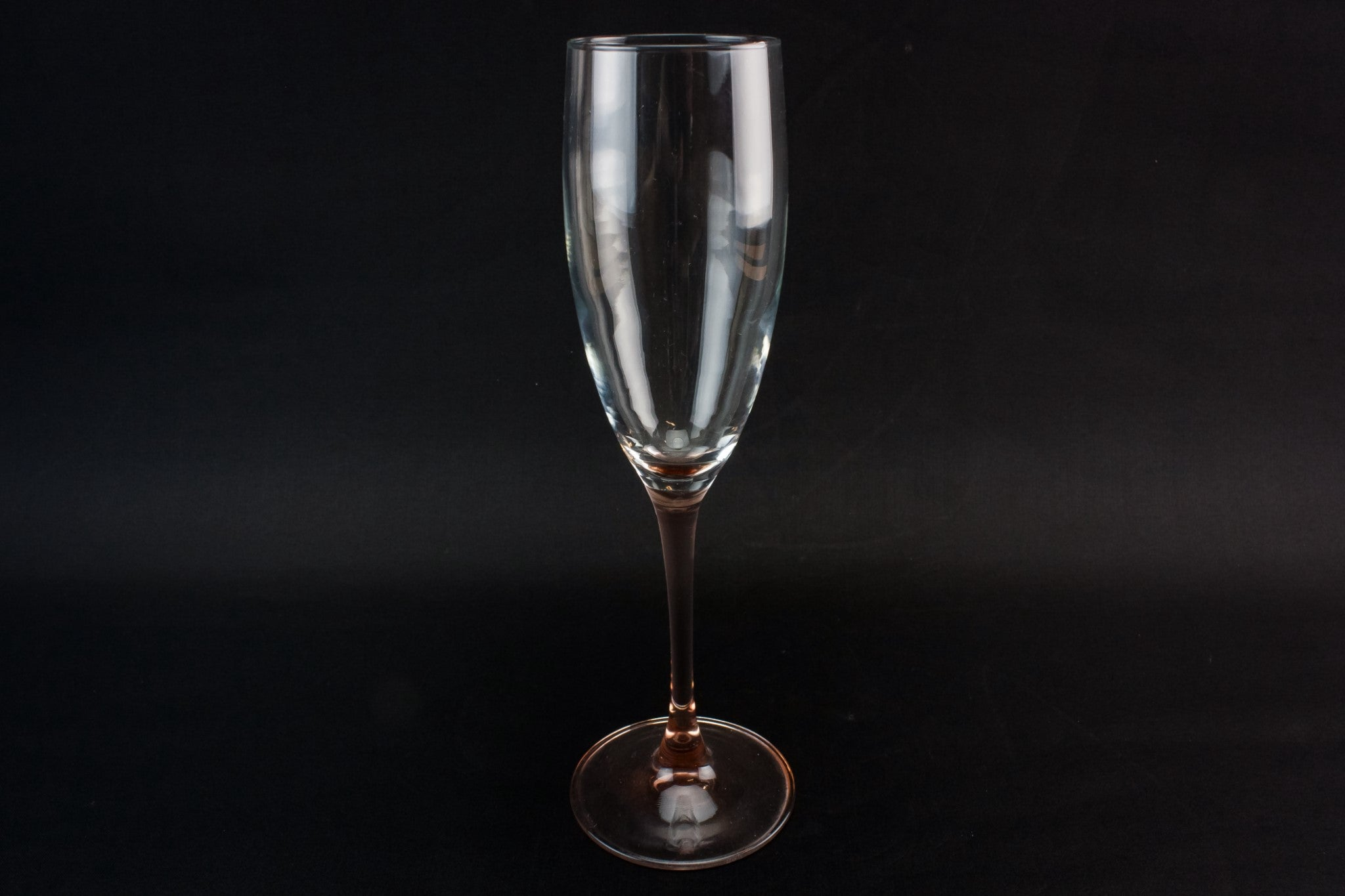8 large champagne flutes