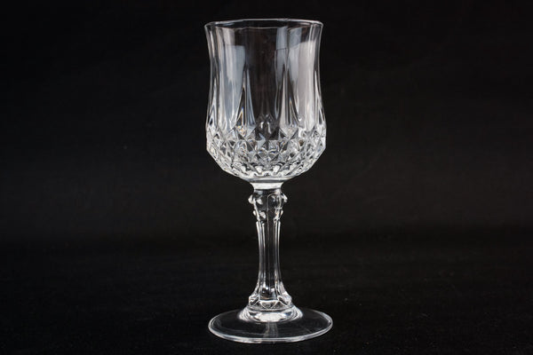 5 large port glasses