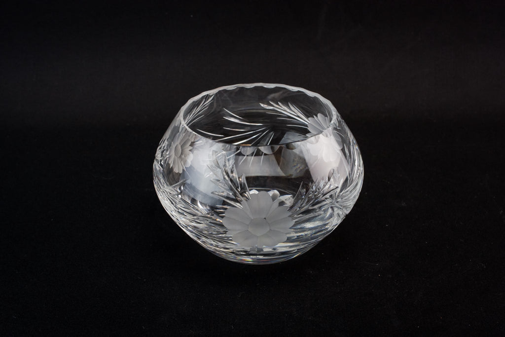 Retro glass bowl