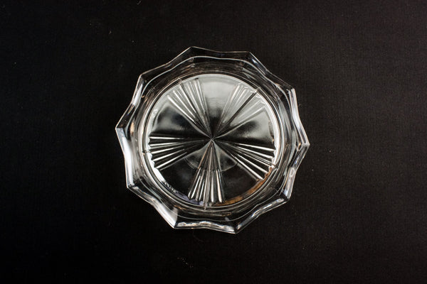 6 Modernist glass coasters