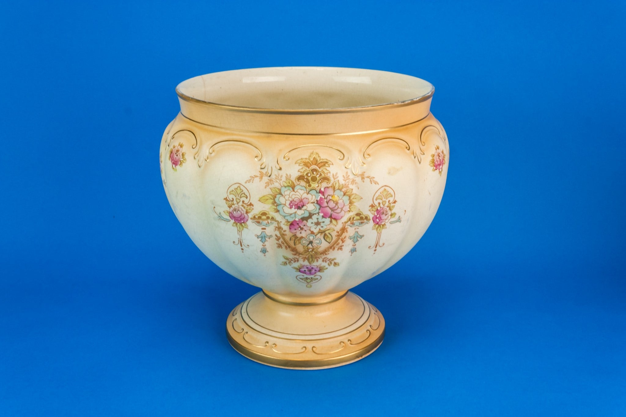 Edwardian pottery planter