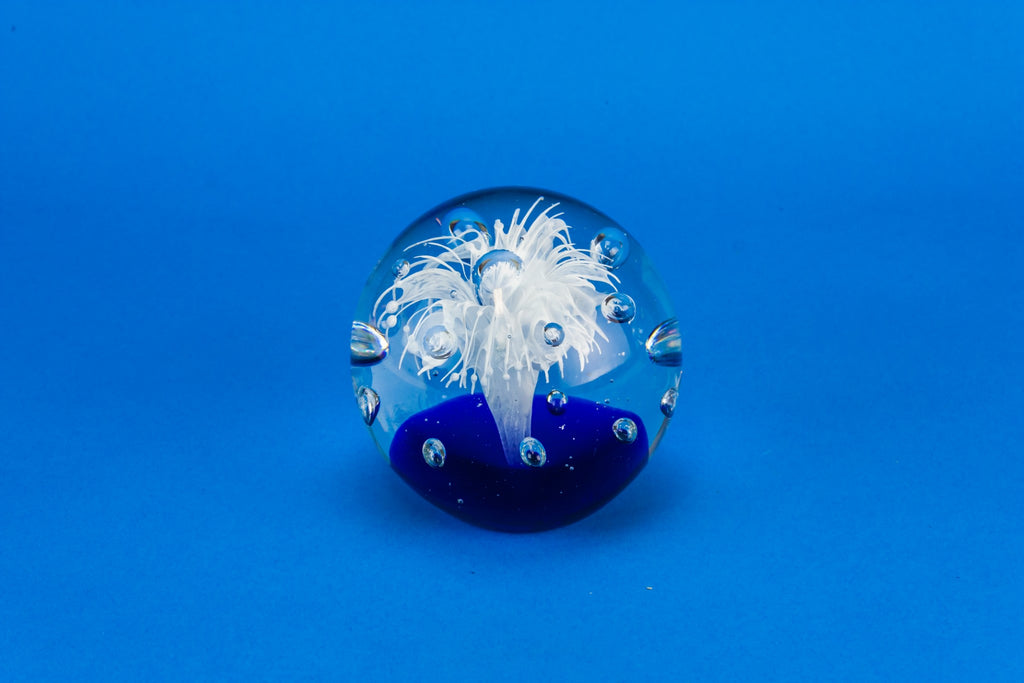 Glass paperweight